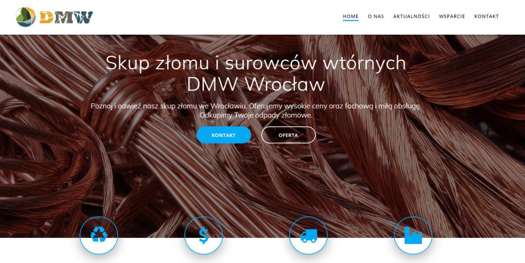 nowa wersja skupzlomu-wroclaw.pl